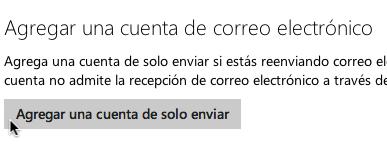 Agregar Cuenta Enviar Hotmail