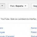 cambiar idioma YouTube