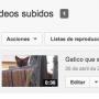 Seleccionar vídeo YouTube