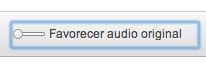 Favorecer audio YouTube