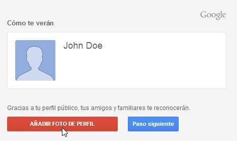 Foto de perfil de Google