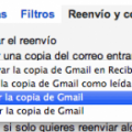 Tipo de reenvío Gmail/Hotmail