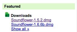 Descargar Soundflower Mac