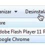 Desinstalar un programa concreto en Windows