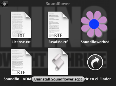 Desinstalar Soundflower