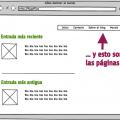 Diferencia entre entradas y páginas Wordpress