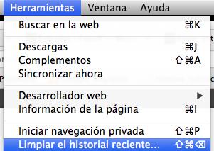 Firefox Mac Privacidad