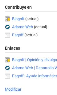 Google Plus Contributor