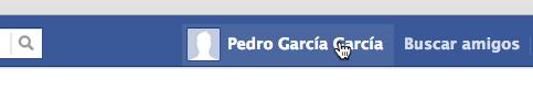 Ir al perfil de Facebook