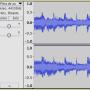 Onda de sonido Audacity