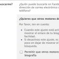 Quitar Facebook de Google