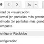 Configurar pestañas Gmail