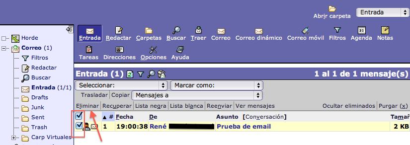 borrar-email-horde