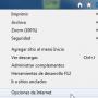Opciones Internet Explorer