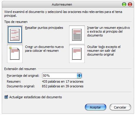 opciones-resumen-automatico-word