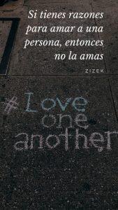 Historias de amor para Instagram