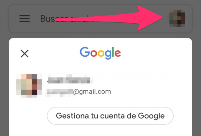 Cambiar nombre Gmail Android